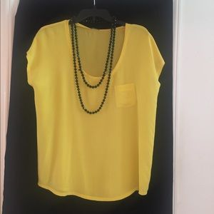 Club Monaco 100% Silk top